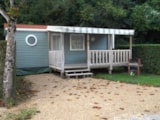 Rental - Mobil-Home 'Confort' 27 M² - Camping Sites et Paysages LES PEUPLIERS