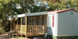 Rental - Mobile home 3 bedrooms 2 bathrooms 37 M² - Camping Sites et Paysages LES PEUPLIERS
