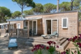 Rental - Cottage Pinède 2 Bedrooms Air-Conditioning*** - Camping Sandaya Cypsela Resort