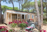 Rental - Cottage Pinède 3 Bedrooms Air-Conditioning*** - Camping Sandaya Cypsela Resort