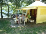 Rental - Funflower Eco 20M² (2 Bedrooms) Without Private Facilities - Airotel Camping La Source