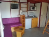 Rental - Chalet Mezzanine Confort 36m² (2 bedrooms) - Airotel Camping La Source