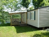 Rental - Mobil-Home Confort+ 31M² (3 Bedrooms) + Sheltered Terrace 14 M² - Airotel Camping La Source