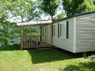 Mobil-Home Confort+ 31M² (3 Bedrooms) + Sheltered Terrace 14 M²