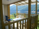 Rental - Mobil home Confort 23 m² (2 bedrooms) + sheltered terrace 7 m² - Airotel Camping La Source
