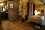 Rental - Lodge Kenya 34.5m² (2 bedrooms) + terrace - Airotel Camping La Source