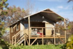 Cabane Lodge Africa 39m² (2 chambres) + Terrasse