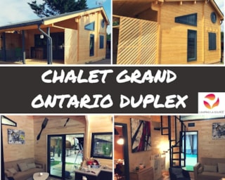 Chalet Grand Ontario Duplex 35 M² (3 Bedrooms)