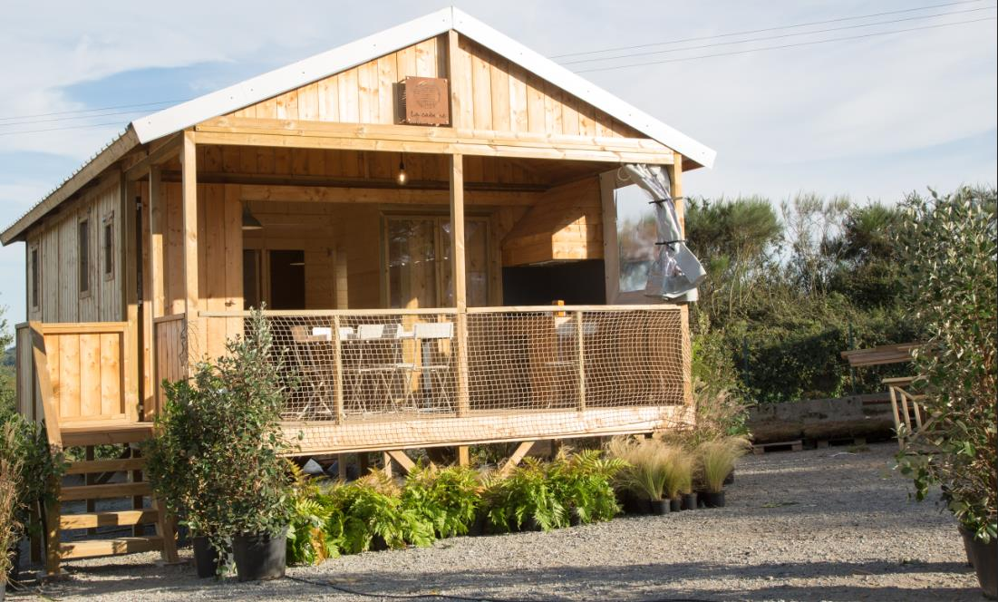 Cabane Luxe Robinson (2 Chambres) + Terrasse Couverte