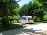 Pitch - Pitch : tent/caravan or camping-car - Camping Le Beauvillage