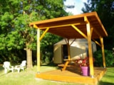 Rental - Yourte without toilet block - Camping Le Beauvillage