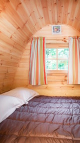 Rental - Wooden cabin without toilet blocks - Camping Le Beauvillage
