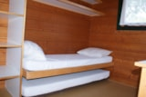 Rental - Mini-chalet without toilet blocks Anaïs - Camping de Saulieu