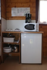 Rental - Mini-chalet without toilet blocks Isabelle - Camping de Saulieu