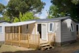 Rental - Mobile home Super Mercure Regular - Camping de Saulieu