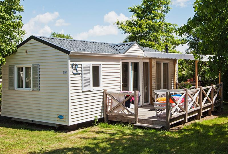 Location - Cottage Dolmen*** 5/6 Pers. 2 Chambres - Camping Mané Guernehué