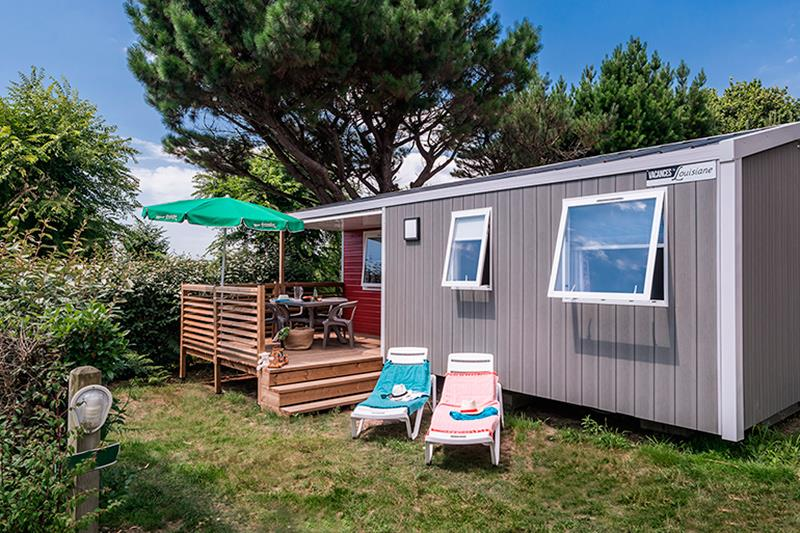 Location - Cottage Atlantique*** 4 Pers. 2 Chambres - Camping Mané Guernehué