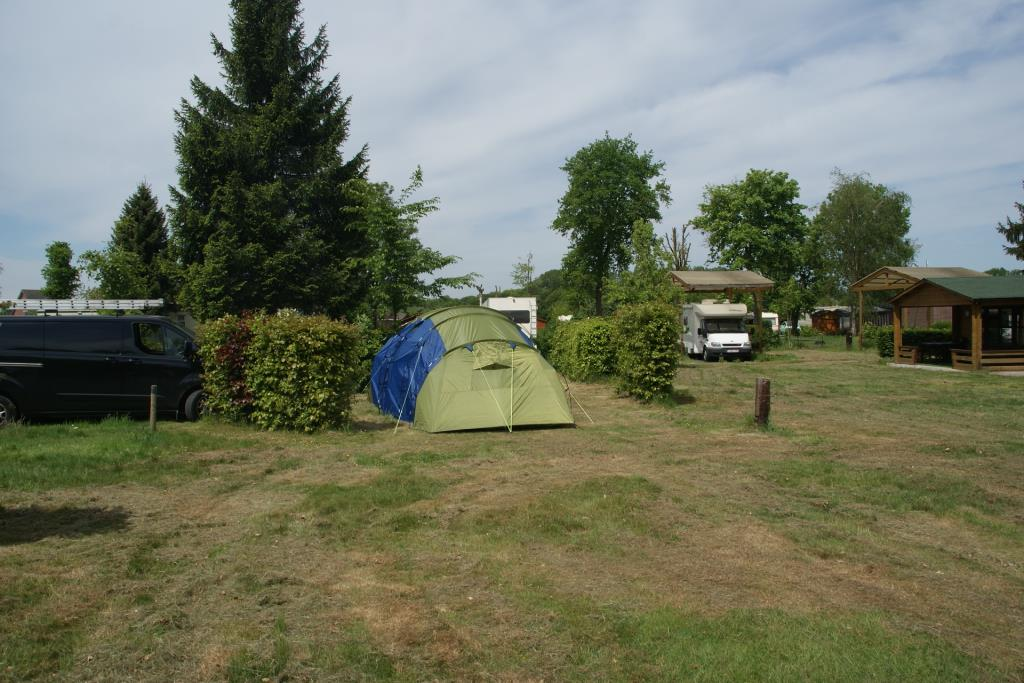 Pitch With Tent Incl. 2 Persons