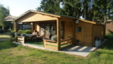 Rental - Chalet with veranda for 4 persons - Camping De Schuur