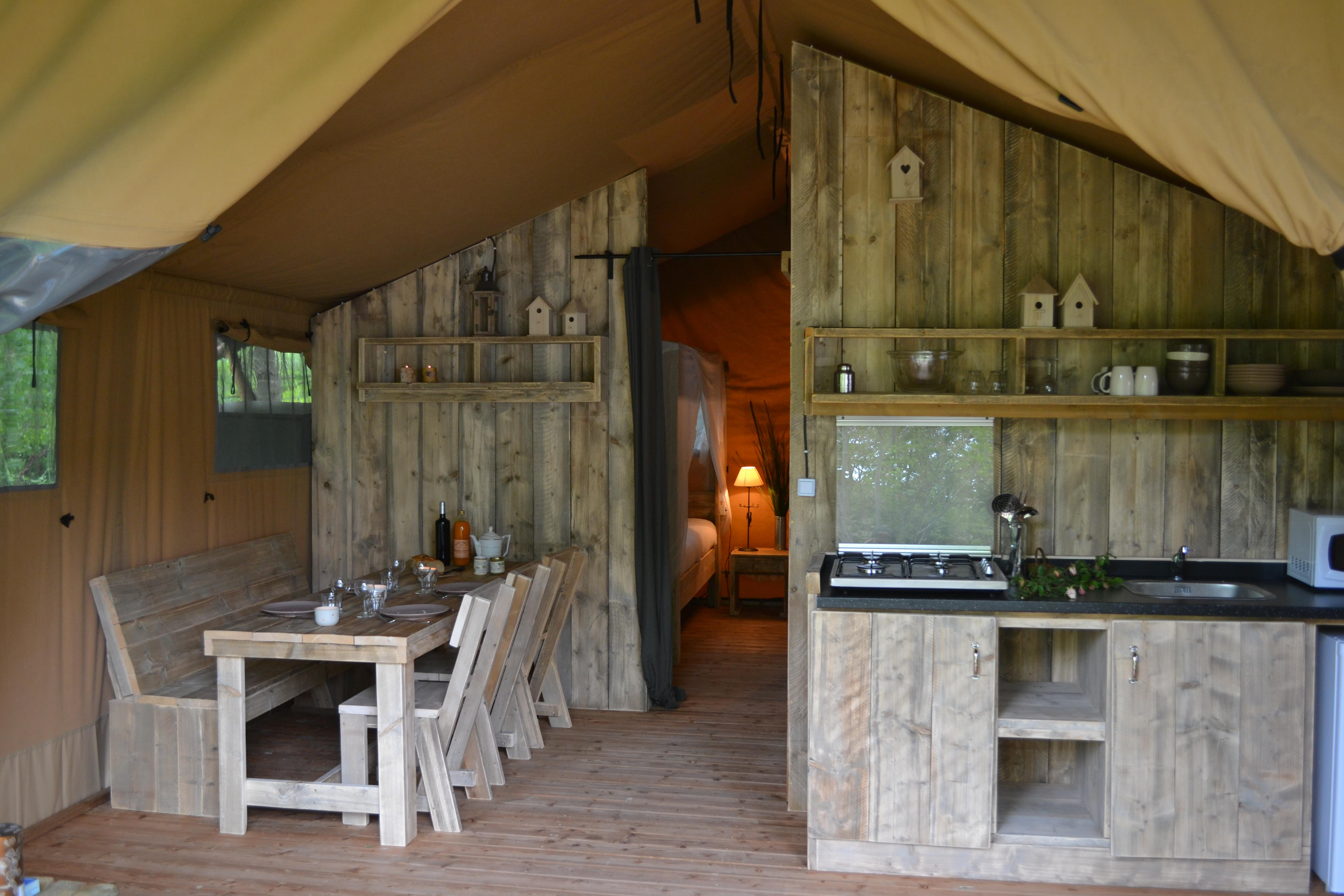 Location - Tente Glamping **** - Domaine Provençal