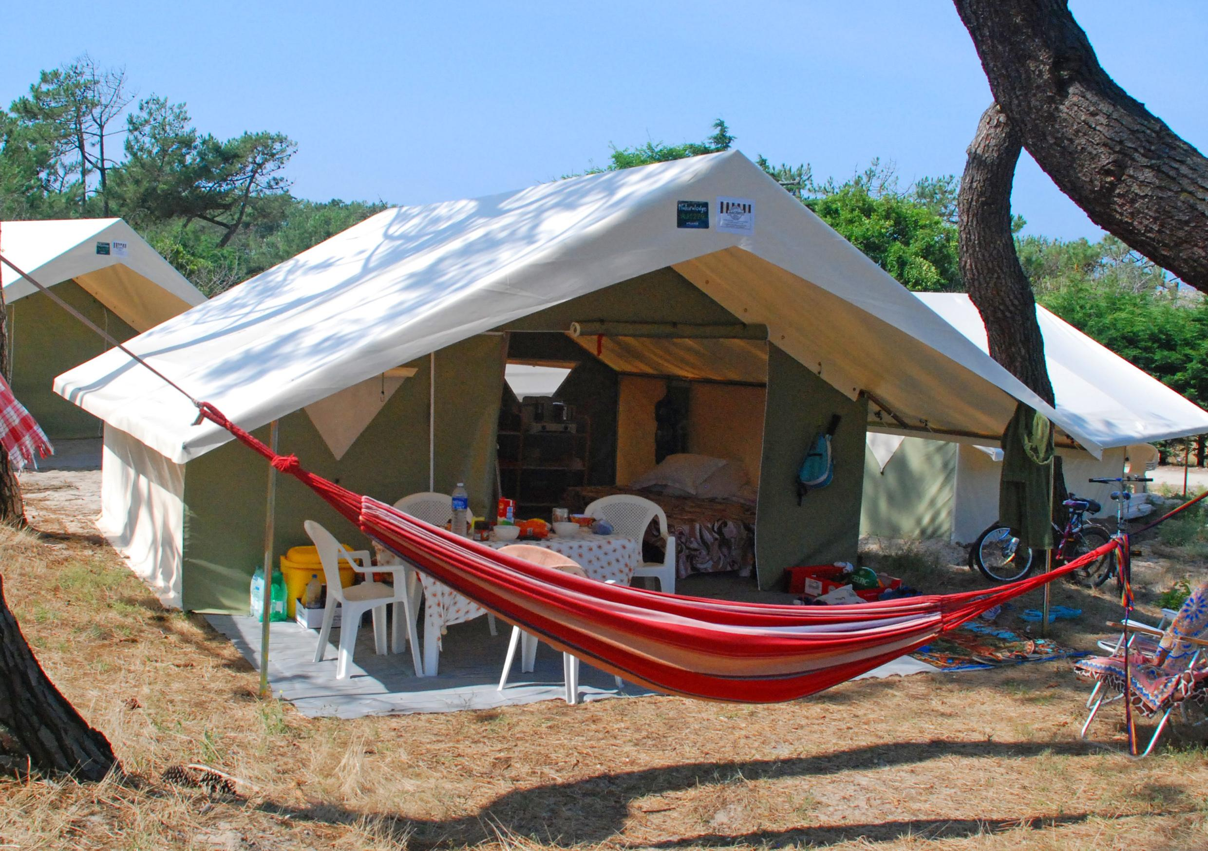Huuraccommodaties - Tent Naturalodge - CHM de Montalivet