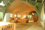 Rental - Safari Tent 4 Or 5 Persons - Le Grand Bois