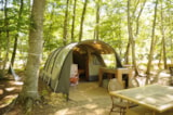 Rental - Tunnel Tent 2 to 4 Persons/7 nights - Le Grand Bois