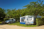Pitch - Pitch A+ (100/110 m²) and water point - Camping Aquarius