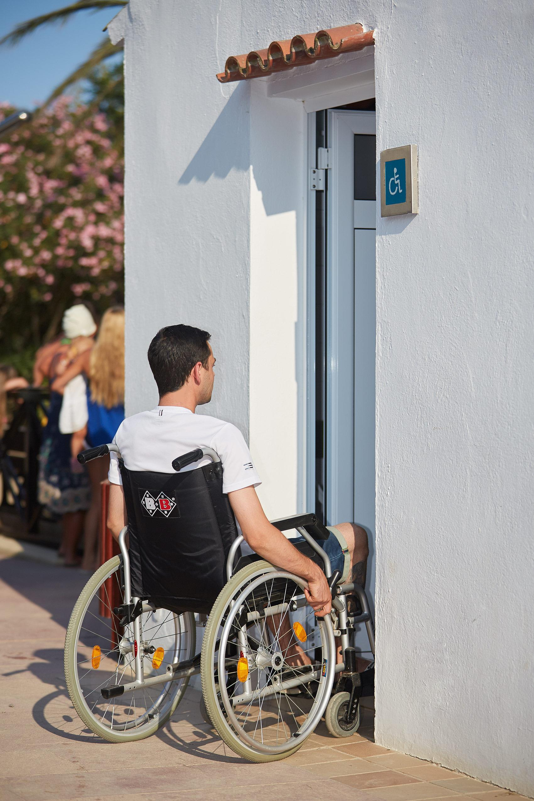 Wheelchair friendly Camping Aquarius - Sant Pere Pescador
