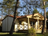 Rental - Chalet Prestige 35 m² (0-7 years) - Camping le Moulin