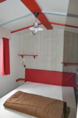 Rental - Cabane du Jura 35 m² (0-7 years) - Camping le Moulin