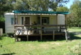 Rental - Mobilhome Eco 21 m² > 10 years (2 bedrooms) - Covered terrace - Flower Camping Les 3 Ours