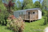 Rental - Mobile Home Confort + 29M² (3 Bedrooms) + Half Covered Terrace - Flower Camping Les 3 Ours