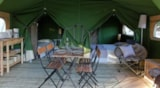 Rental - Lodge Freeflower Confort 37m² (2 bedrooms) - sheltered terrace - Flower Camping Les 3 Ours