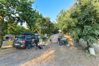 Camping pitch  (2 people + Car) + Electricity 16 A