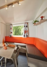 Rental - Mobil-Home COLORADO Premium 28m² air-conditioning (2 rooms) Dishwasher + TV - Camping Le Garrigon