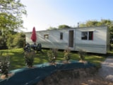 Rental - Mobilhome Eco 2 Bedrooms - Without Toilet Blocks - Camping Les P'tites Maisons dans la Prairie