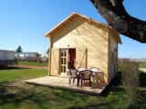 Rental - Chalet with toilet block - Camping Le Cheyenne