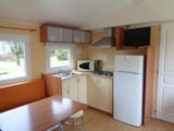 Rental - Mobile-home Sunroller 32m2 - Camping Le Cheyenne