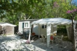 Rental - Cottage Laurier 18m² + 16m² gazebo - Camping Le Luberon ****