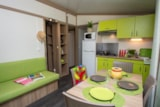 Rental - Cottage Lavande 30m ² + 12m ² covered terrace - Camping Le Luberon ****