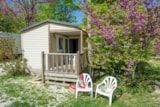 Rental - Cottage Luberon : 24m ² + 6 m² covered terrace - Camping Le Luberon ****