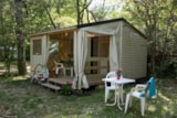 Rental - Cottage Capucine, without toilet blocks or water 21m ² - Camping Le Luberon ****