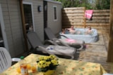 Rental - Cottage Romarin 29,5M² Air Conditioned +  Private Jacuzzi + 20M² Half Covered Terrace - Camping Le Luberon ****