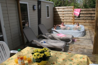 Cottage Romarin 29,5M² Air Conditioned +  Private Jacuzzi + 20M² Half Covered Terrace