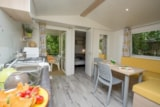 Rental - Cottage Luberon Premium 25,5 m² air-conditioning + 7,6 m² of sheltered terrace - Camping Le Luberon ****