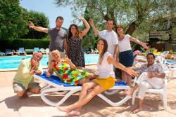 Reception team Camping Le Luberon **** - Apt
