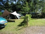 Pitch - Pitch + 1 car + tent , caravan or camping-car - Le Bois Guillaume