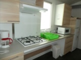 Rental - Mobil home 30m² - 2 bedrooms (adapted to the people with reduced mobility) - Le Bois Guillaume