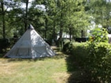 Pitch - Pitch Trekking Package by foot or by bike with tent - Le Bois Guillaume